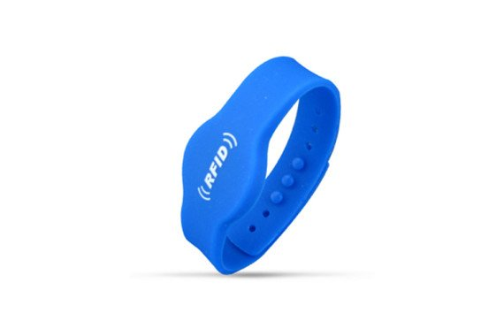 Adjustable Silicone RFID Wristband