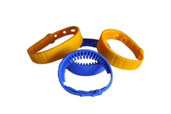 Silicone UHF RFID wristband