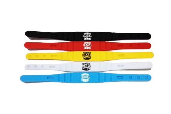 Adjustable silicone RFID wristbans