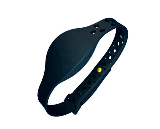 SM-8000 MOVE RFID Black Wristband