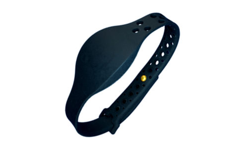 SM-8000 RFID MOVE Black Wristband