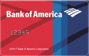 Bank of America RFID Card