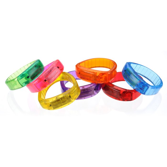 Colorful LED wristbands