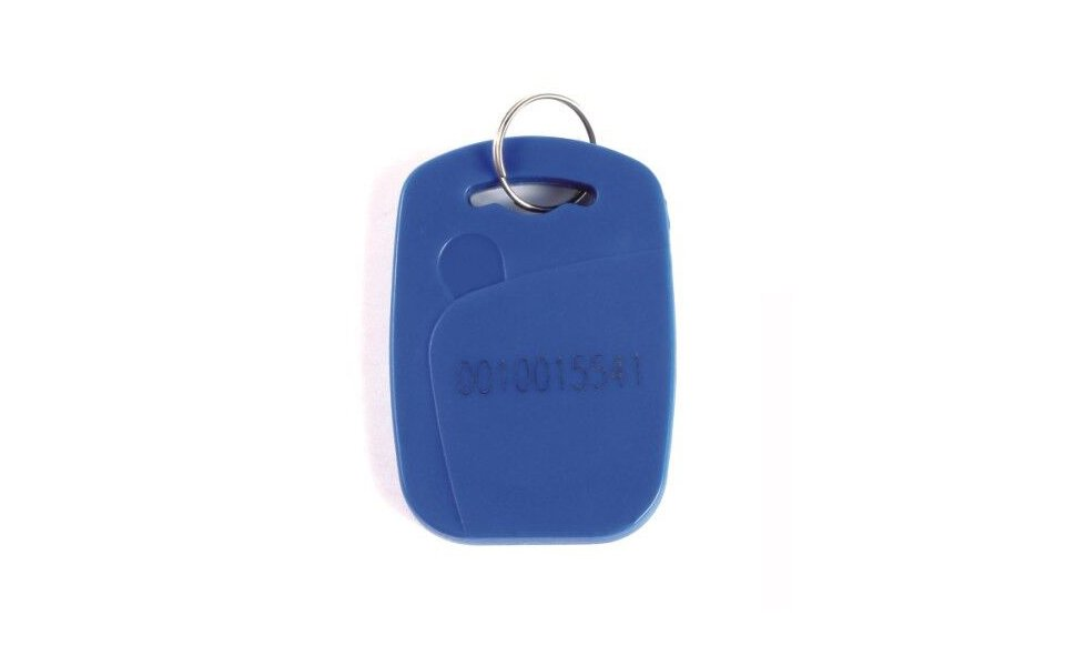 RFID Fob with laser serial number