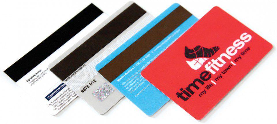 Access control cards